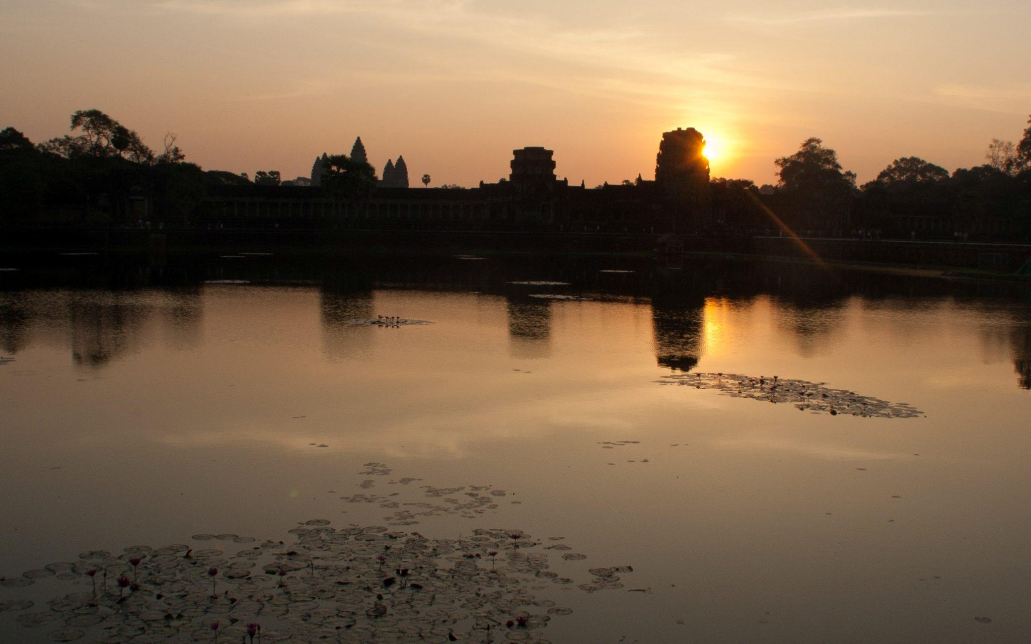 Angkor Wat au lever du jour