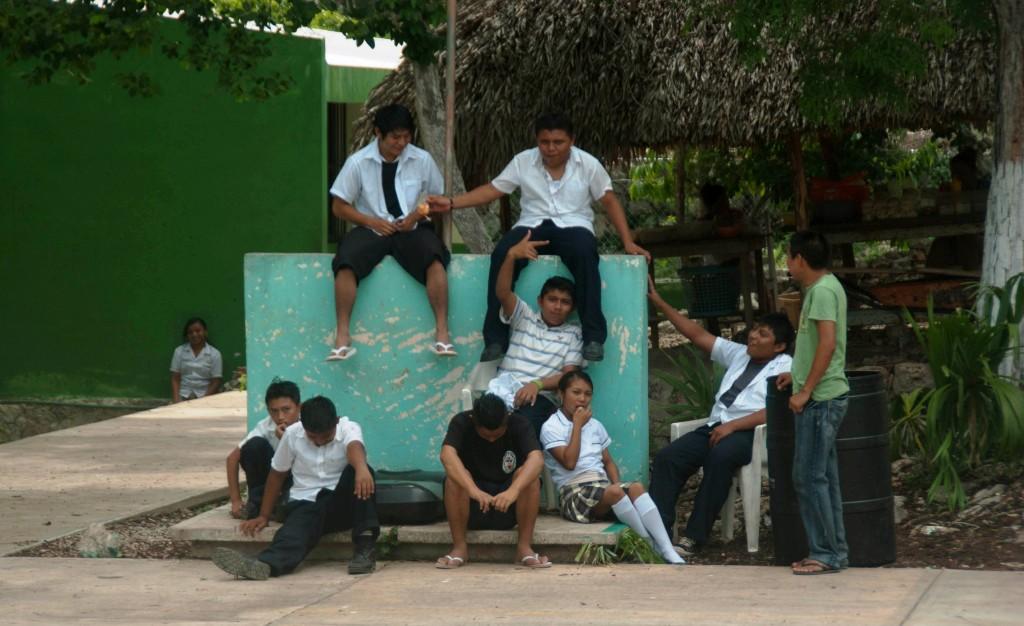 Ecole et volontariat au mexique