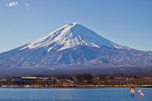 Marche vers le mont fuji