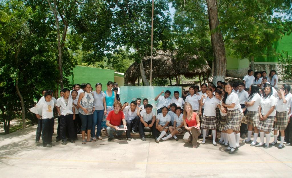 volontariat au Mexique - région du Yucatan