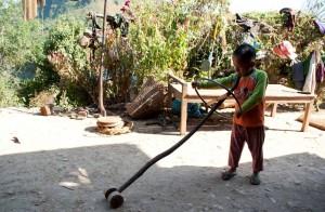 Jouer au népal