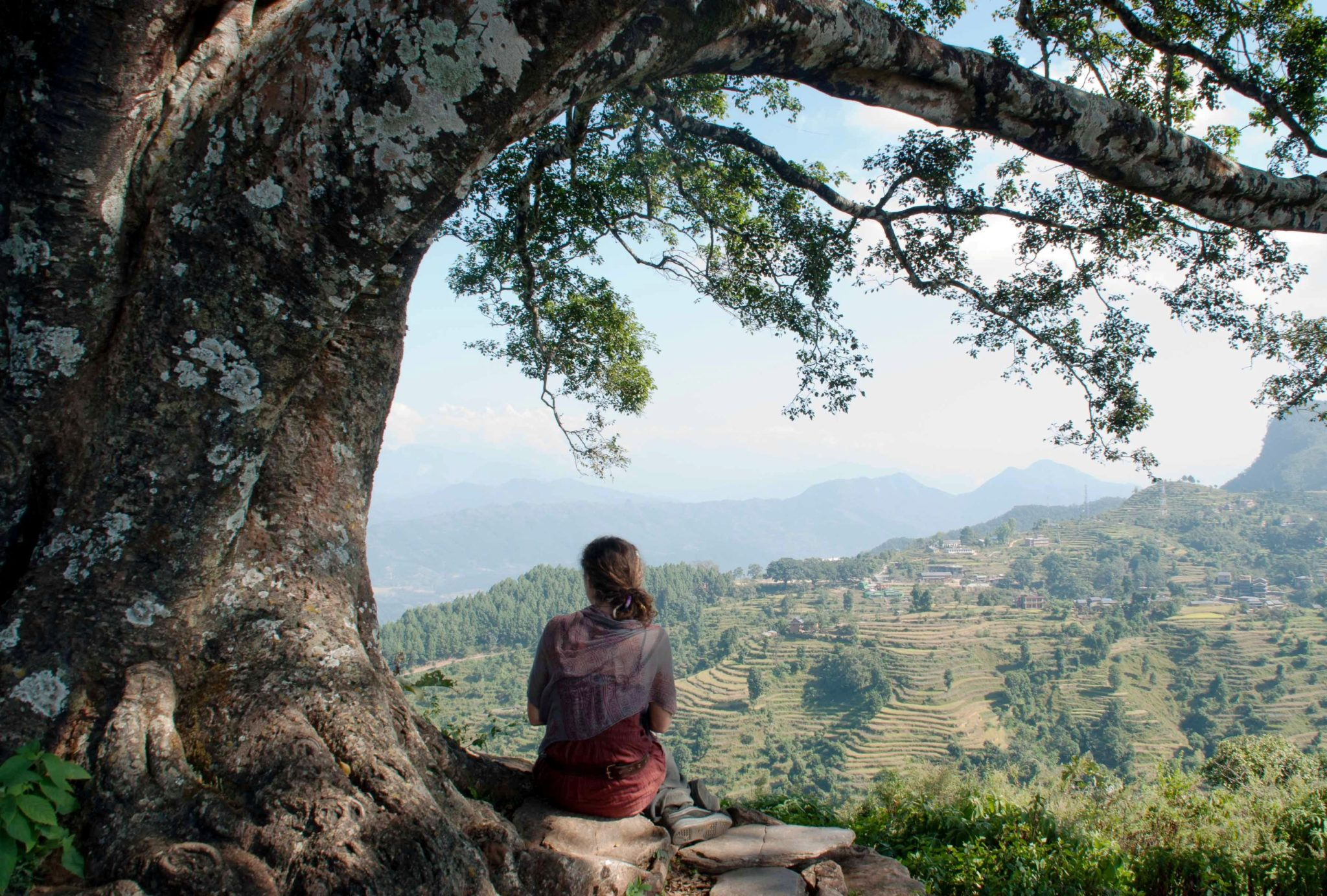 Méditation au népal