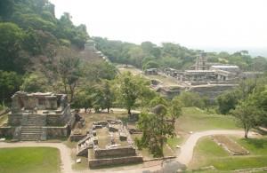 Palenque en photo