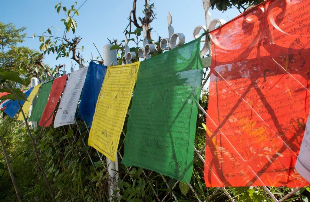 Tissus au népal