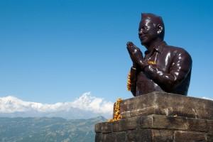 Statue de prière