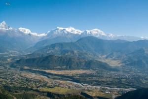 Chaine de l'Himalaya