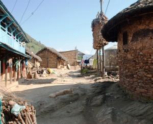 Entrée du village de Ramkot