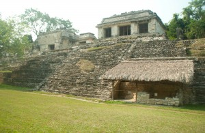 Palenque dans le Chiapas