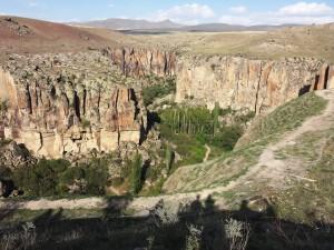 un canyon en turquie