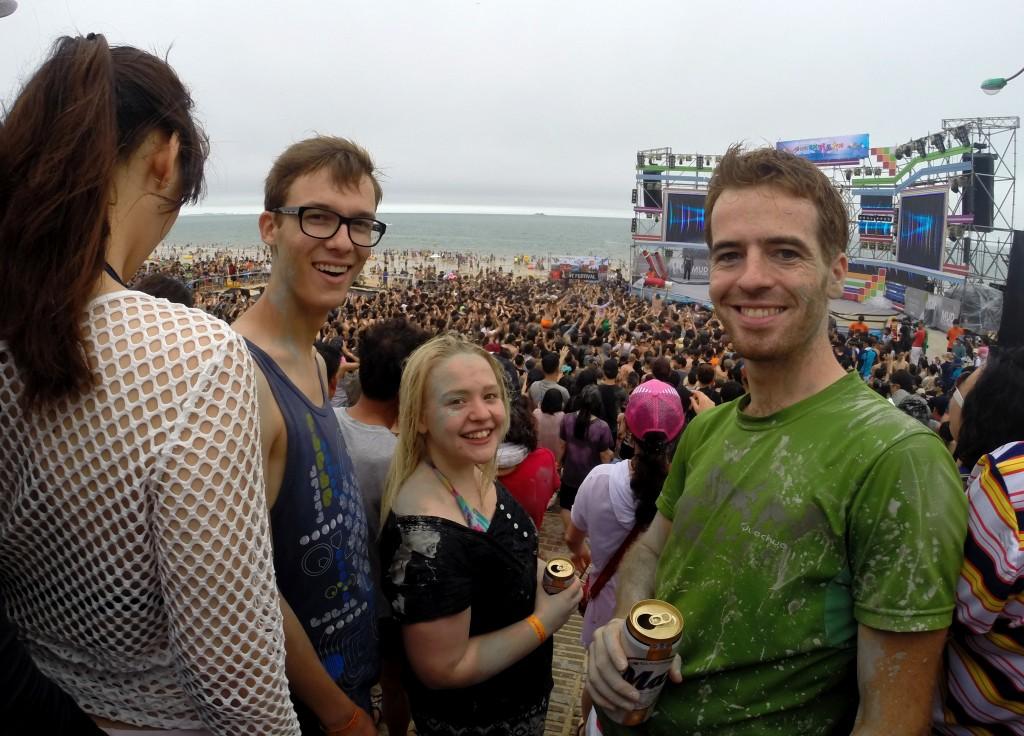 concert au festival de la boue