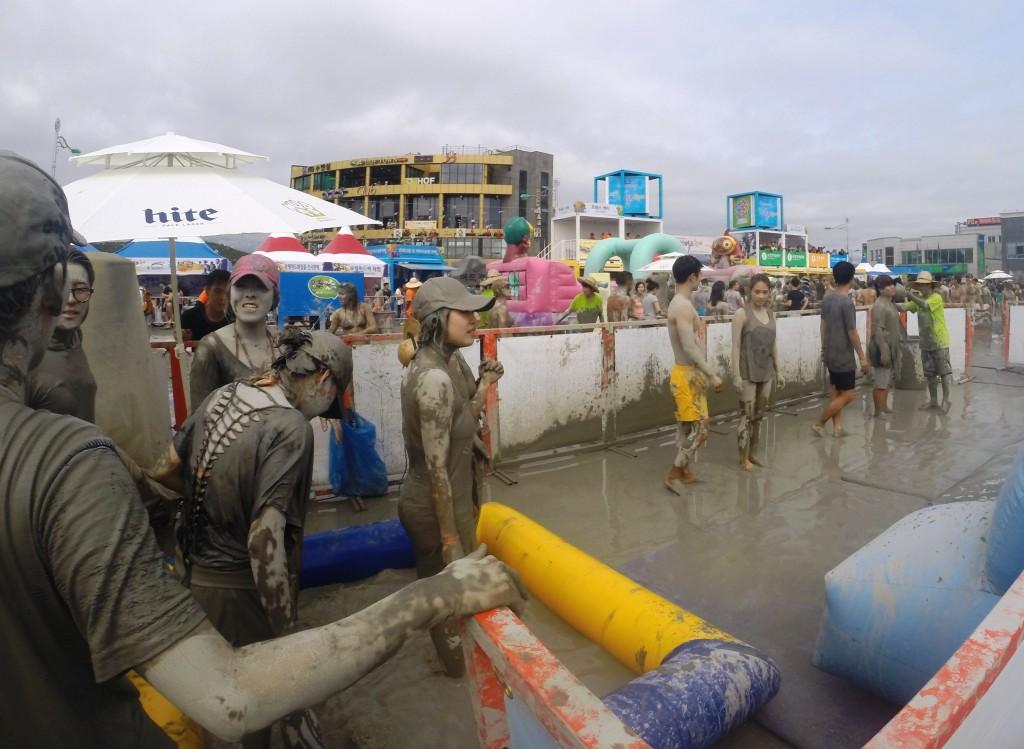 festival de la boue en corée