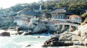 Temple en bord de mer