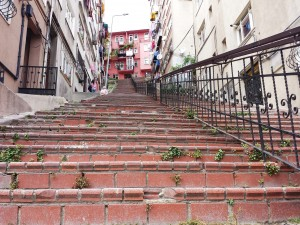 Un escalier à Istanbul