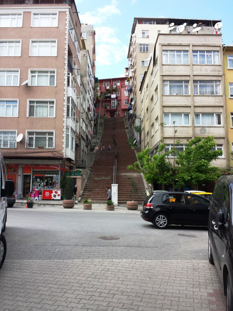 escalier-istanbul