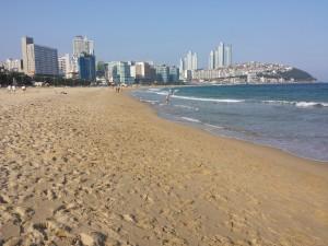 Plus belle plage de corée