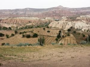 Un paysage de Cappadoce