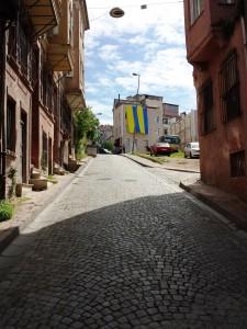 une rue d'Istanbul