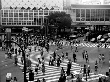 Le mythique passage piéton de Shinjuku