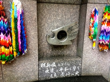 Une flamme d'Hiroshima à Tokyo