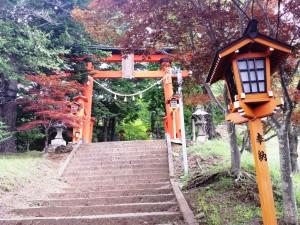 Escaliers vers le temple
