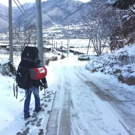 voyager sous la neige