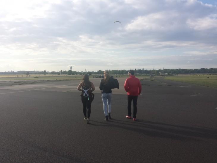 parc aéroport de berlin