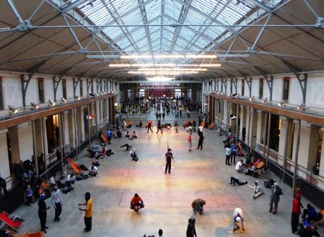 Hall du 104 à Paris