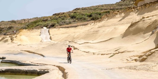 excursion en vtt sur l'ile de gozo