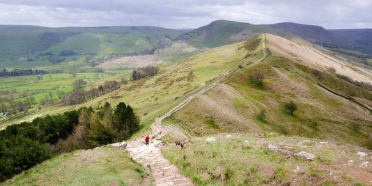 randonnée à castleton