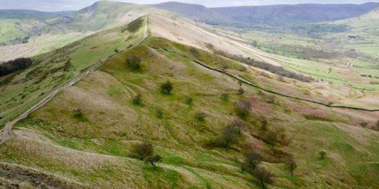 paysage du peak district