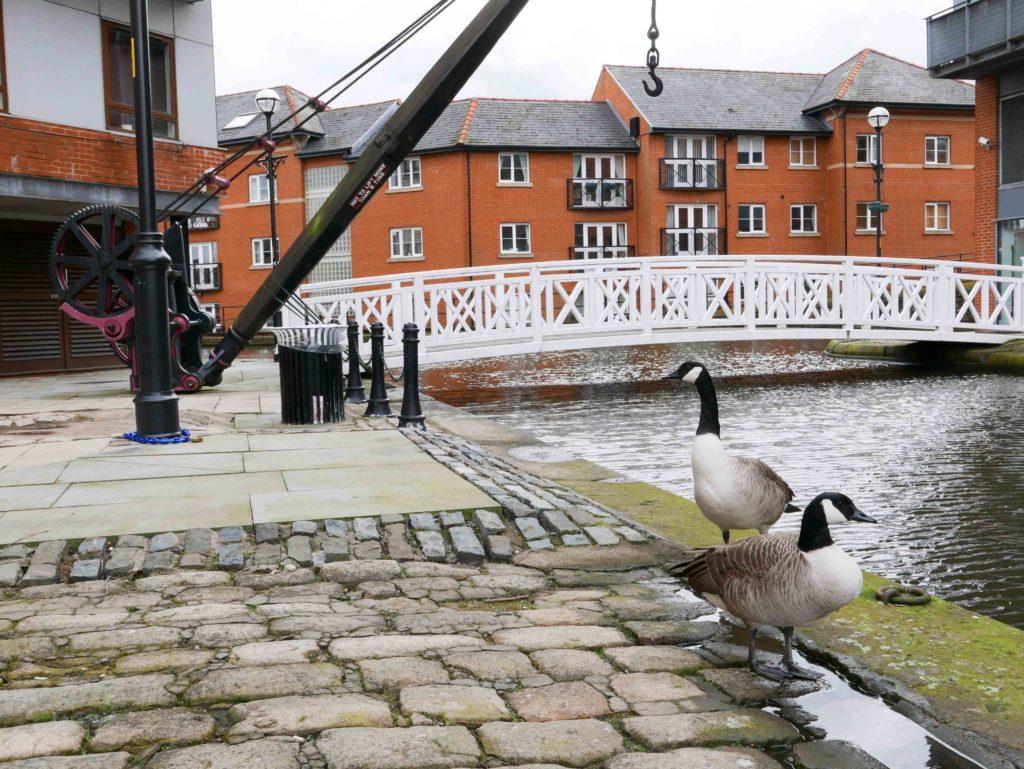 Canal à Manchester