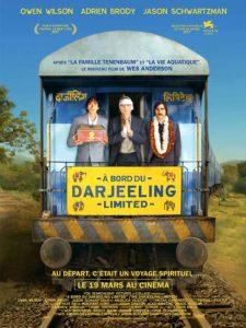 Film A bord du Darjeeling Limited