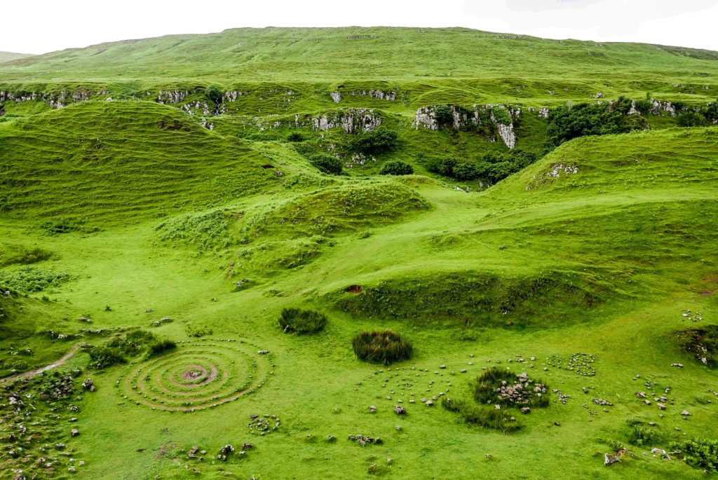 Faerie Glen à Skye