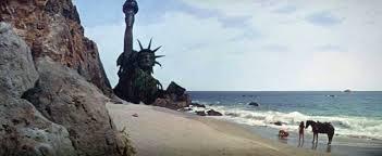 zuma's point dume beach lieu de tournage de La planète des singes