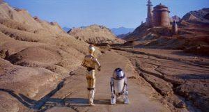 Death Valley lieu de tournage de Star Wars