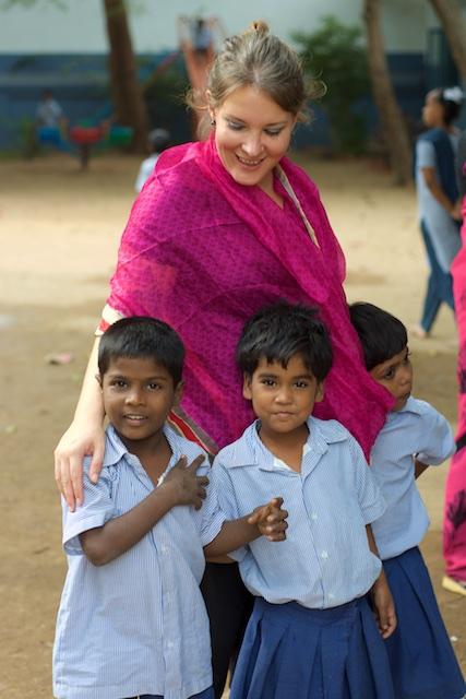 Volontariat en Inde