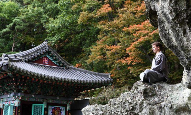 Temple stay Golgulsa en Corée du Sud