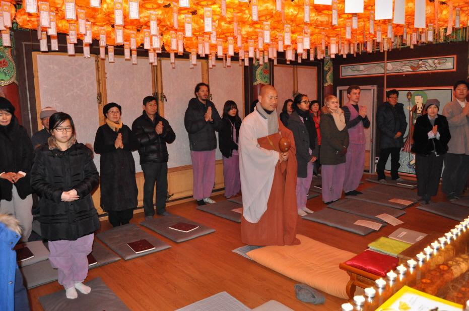 Temple Stay Lotus Garden Corée du Sud