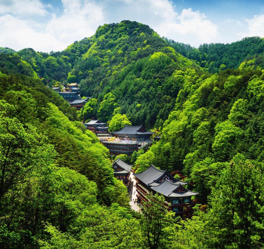 Temple stay Guinsa Corée du Sud