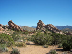 Vasquez Rocks Natural area park - Little Miss Sunshine