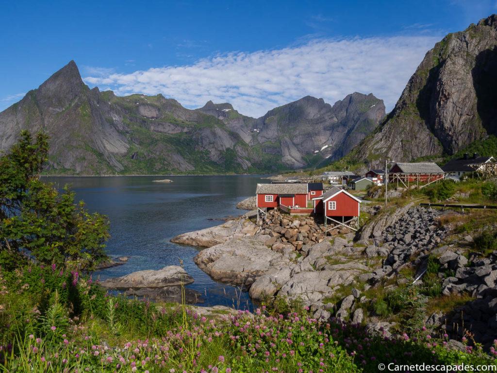 iles lofoten en norvege