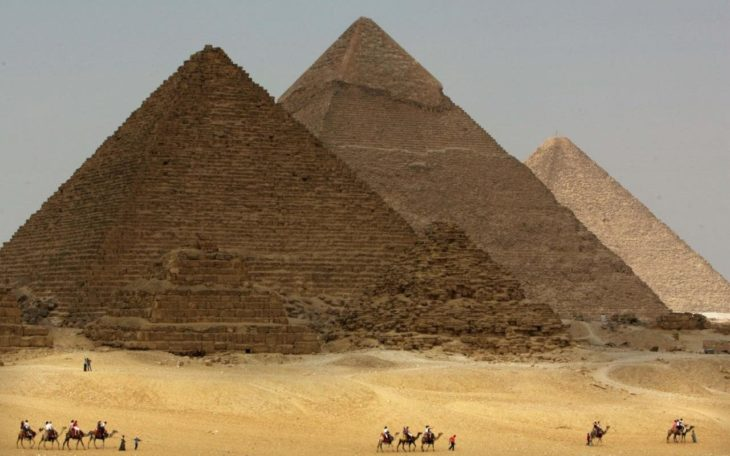 Photo des pyramides