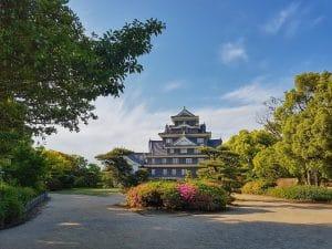 le chateau d'okayama