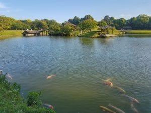 lac au japon